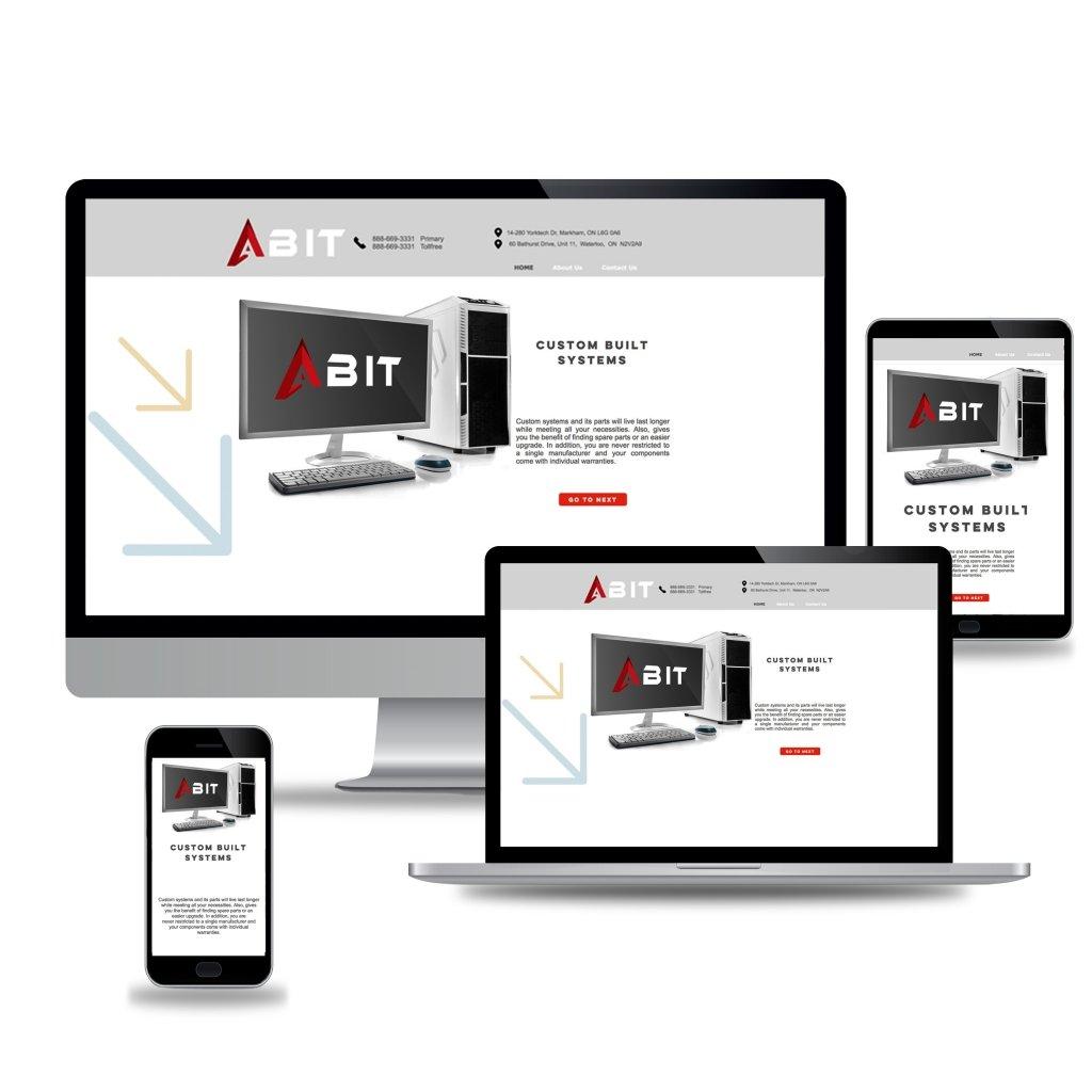 ABIT Web Design Mockup