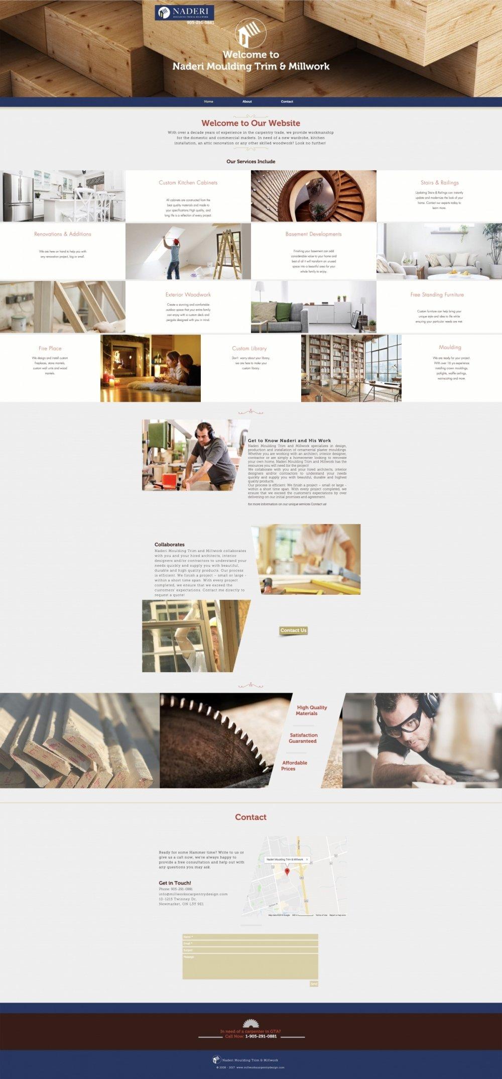 Naderi Moulding Trim & Millwork 2
