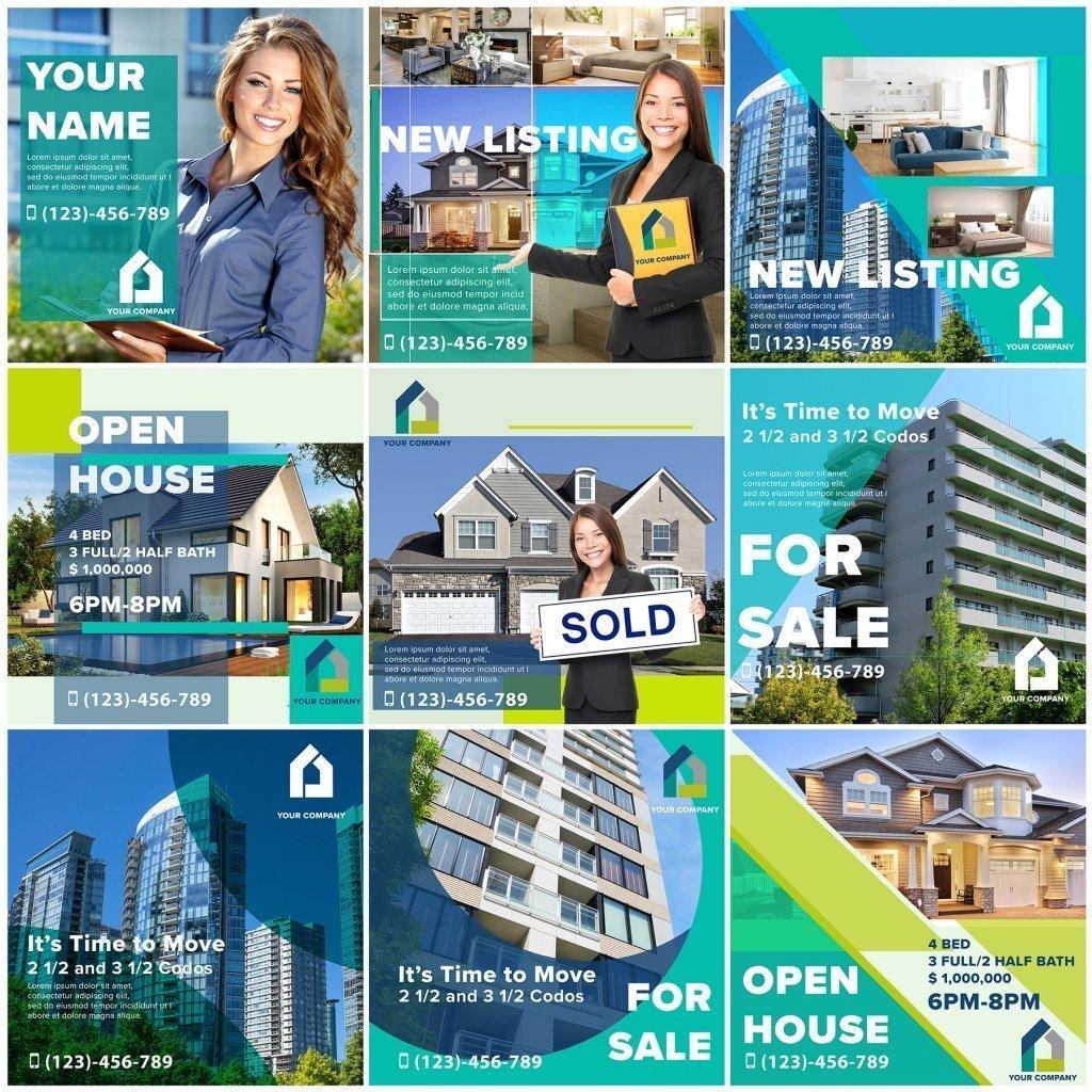 Real estate sample template