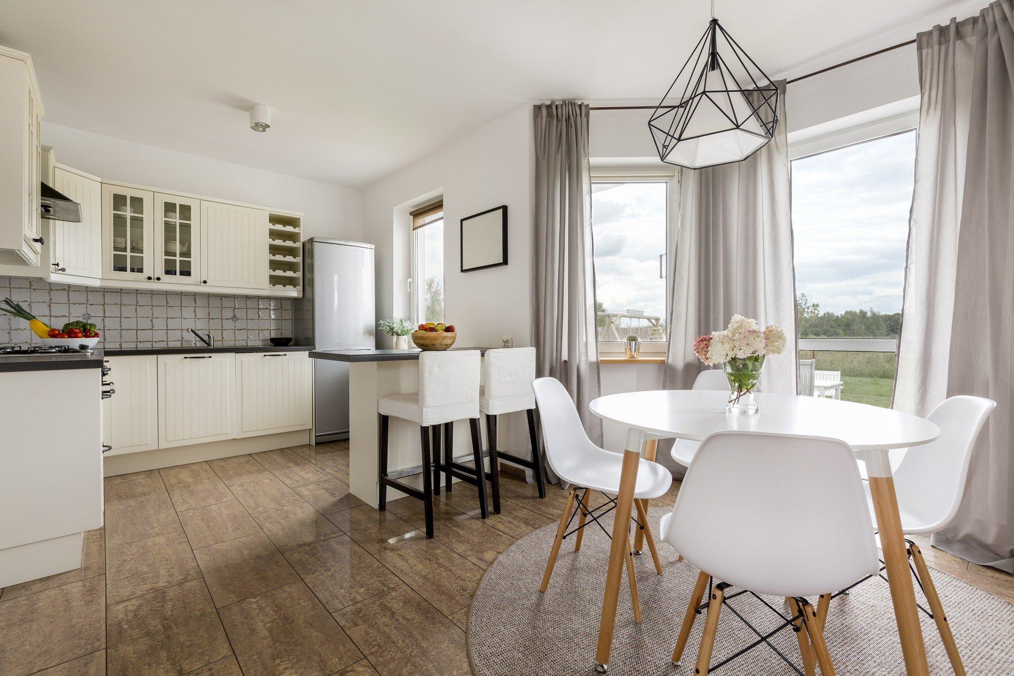 Kitchen in a modern house