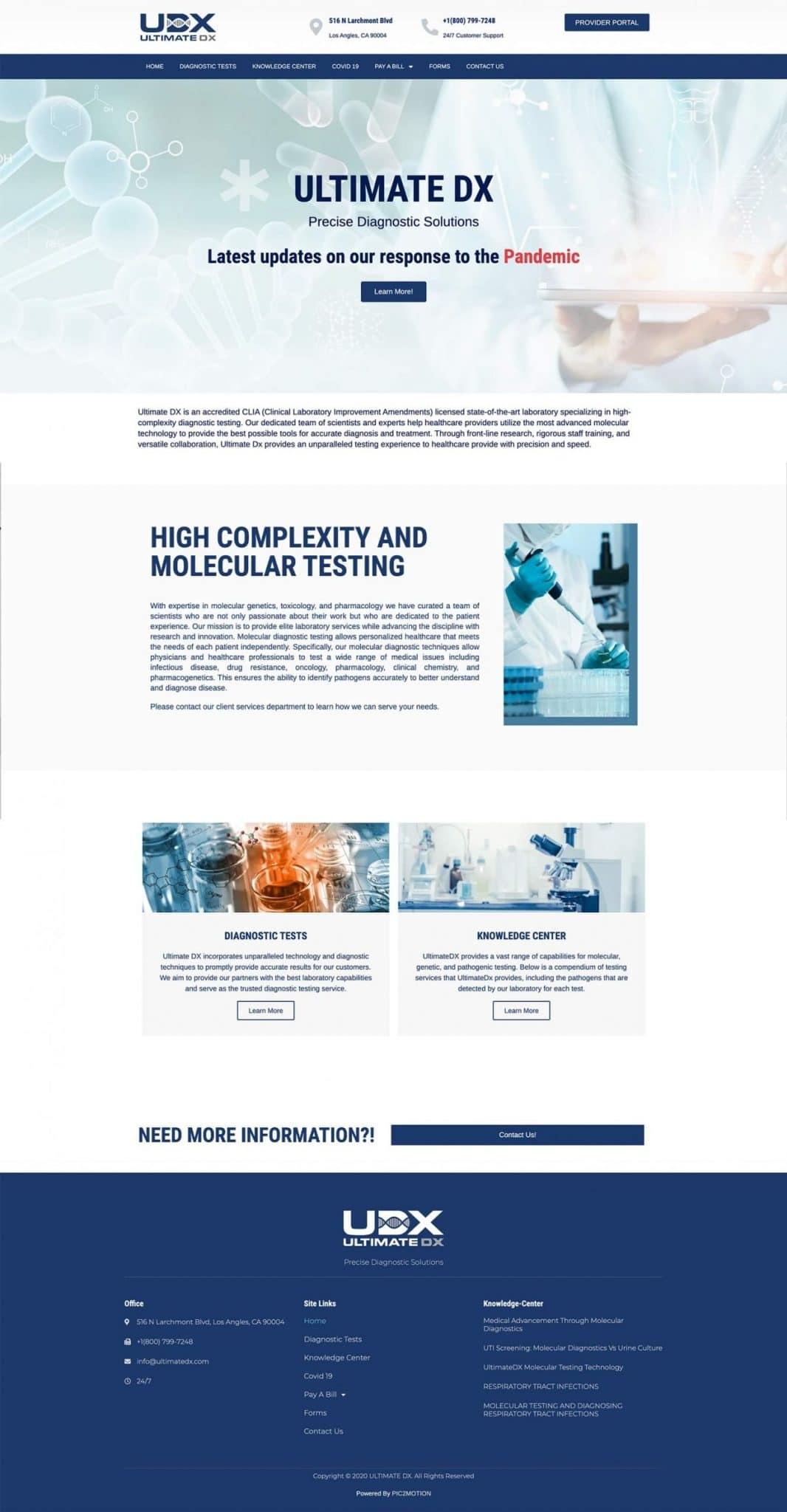 Ultimate-DX-web-design