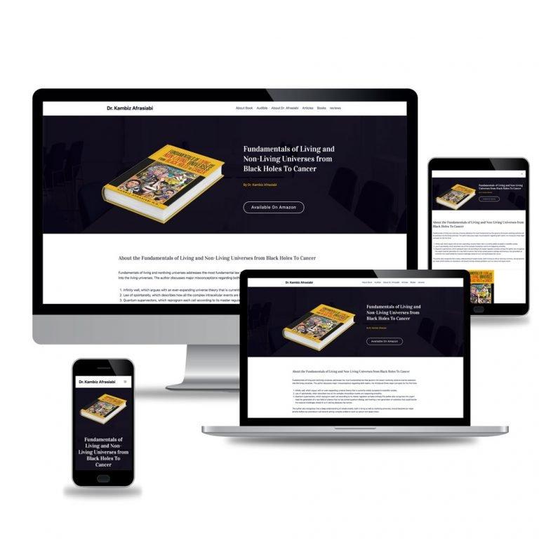 Dr.Kambiz Afrasiabi – Web Design and Development
