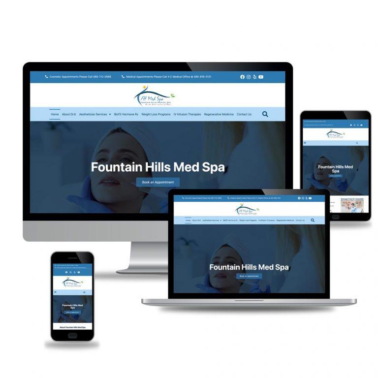 Dr.K MedSpa – Medical Web Design and Development