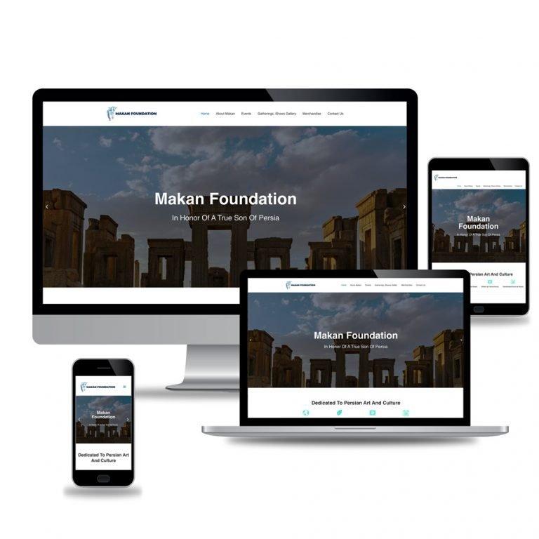 Makan Foundation – Web Design and Development